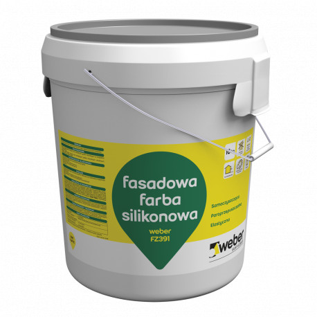 Silicone Paint Weber FZ391, 25 kg