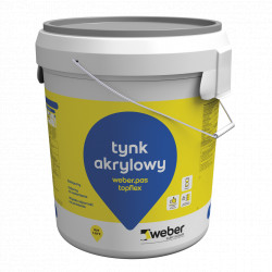 Weber.pas topflex - Acrylic Plaster granulation 1.5 mm 30 kg