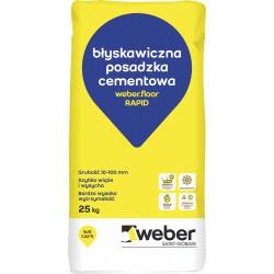 Schnellestrich Weber RAPID 25 kg