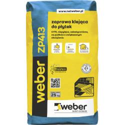 Tiles adhesive Weber ZP413, 25 kg