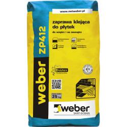 Tiles adhesive Weber ZP412, 25 kg