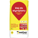 Styropor- und Gewebekleber Weber UNI-S, 25 kg