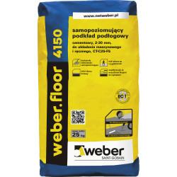 Fließestrich 4150 WEBER, 25 kg