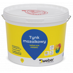 Tynk mozaikowy Weber.pas mosaic 15 kg