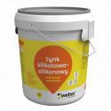 Weber.pas extraclean - tynk silikatowo-silikonowy baranek 1,5 mm 30 kg