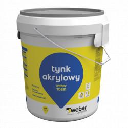 Tynk akrylowy WEBER TD 321 - 30 kg