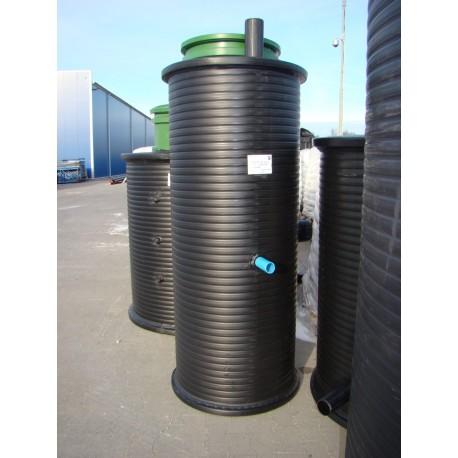 Przepompownia P60-80/2,1 na ścieki z pompą 1-faz.