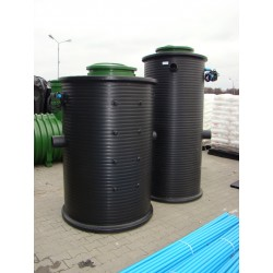 Household Raw Sewage Pumping Station P100/1.9 with single-phase pump