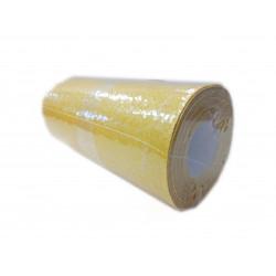 Yellow sandpaper, rol. 60 gr 11.5 cm x 3 m