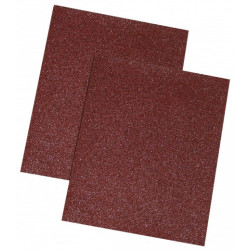 Schleifpapier braun, 60 gr., Set 10 Stück