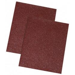 Schleifpapier braun, 180 gr., Set 10 Stück