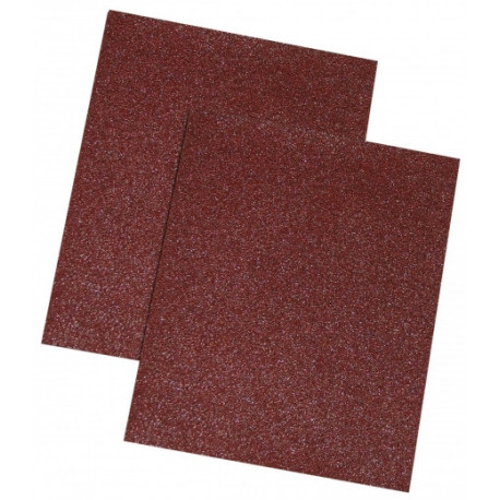 Papier ścierny brąz, 180 gr., kpl. 10 szt.