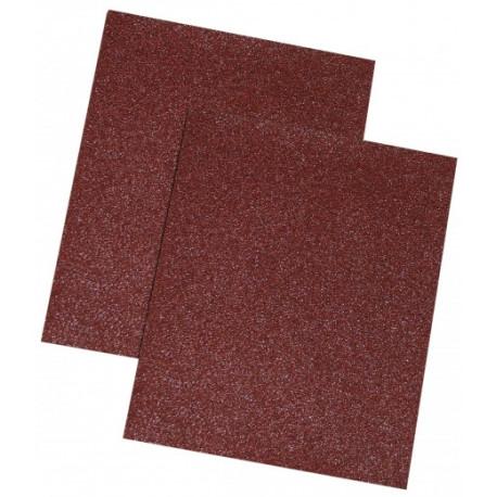 Papier ścierny brąz, 120 gr., kpl. 10 szt.