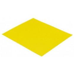 Papier ścierny żółty, gr. 120, 10 szt./kpl.