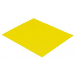 Yellow sandpaper, 100 gr., Set 10 pcs.