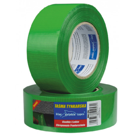 Taśma tynkarska 48mmx50m zielona