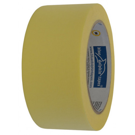 Taśma papierowa 2,5 cm x 50 m żółta