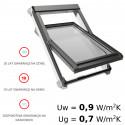 Okna obrotowe PVC - OKPOL IGO I6