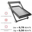 Okna obrotowe PVC - OKPOL IGO I3