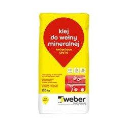 Wool glue WEBER UNI W 25kg