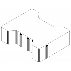 POZBRUK H-shaped Paving Domino, 6 cm