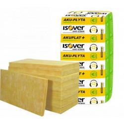 Wełna 5 cm płyta ISOVER AKU-PŁYTA 0,037 W/mK 14,4 m2/paczka 20 paczek/pal.