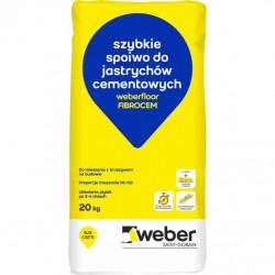Weber.floor FIBROCEM spoiwo do jastrychów cementowych 20 kg