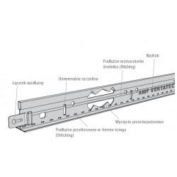 AMF Hauptprofil 24x38x3600 mm VENTATEC