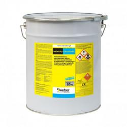 Weber.dry PUR coat srebrnoszary 5 kg RAL 7001
