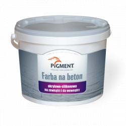 Farba PIGMENT na beton silikon-akryl 5L szara