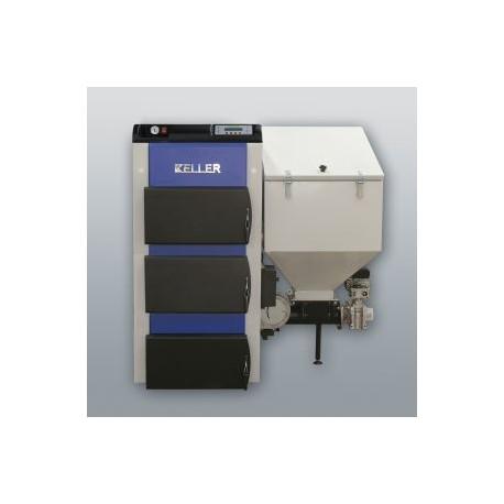 Kessel mit links Retorte EKO-KWP-15, 15kW