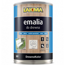 Emalia biała półmat 800ml DREWNOKOLOR