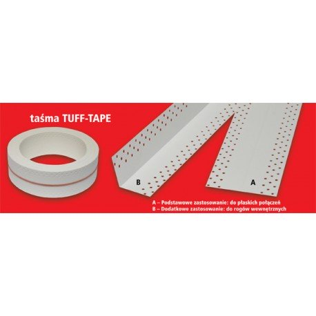 Drywall Joint Tape Inside corners TUFF-TAPE 10 m