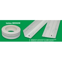Drywall Joint Tape Inside corners MEDIUM 20 m