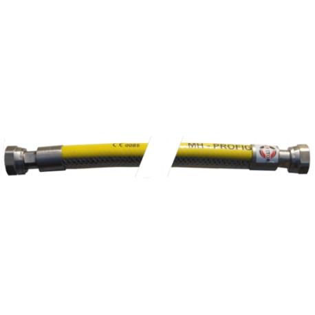 """Elastische Gasleitung mit zwei drehbaren Muttern ½"""" 50cm-200cm"""