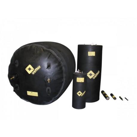 Korek uszczelniający 2,5 do 4cm typ RDK 2,5/4 2,5 bar