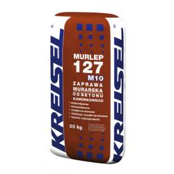 Klej do siporeksu i silikatów MURLEP127 M10, szary 25 kg, 48 szt./pal