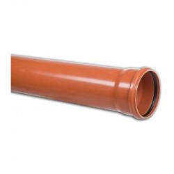 Rura PVC-U kan. 160x4.7x1000 mm [LITA] (S) SN8