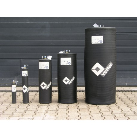 Korek uszczelniający 80 do 140cm typ RDK 80/140 1,5 bar