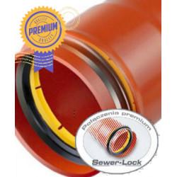 Rura PVC-U kan. 160x4.7x3000 mm [LITA] (S) PIPELIFE SN8