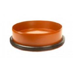 Dno studni 425 do rury karbowanej z uszczelką Pipelife