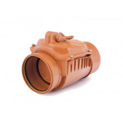 Zasuwa burzowa PVC-U kanalizacyjna 160 klapa nierdzewna