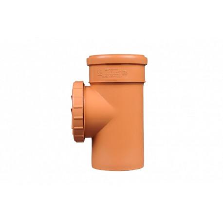 Rewizja PVC-U kanalizacyjna 110 nakręcana