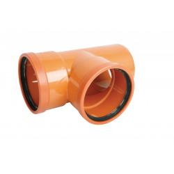 Trójnik PVC-U kanalizacyjny 250x200/87°