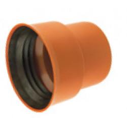 Traper PVC-U 200/226 żeliwo na bosy koniec z uszczelką
