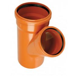 Trójnik PVC-U kanalizacyjny 250x250/45°
