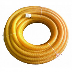 Rura drenarska 100 PVC/50m/ bez otworów